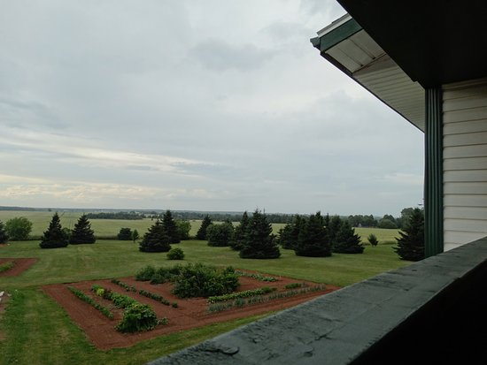 Miscouche, Canada: View from the back balcony - same views as from the Suite