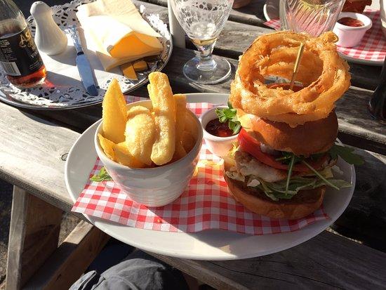 Widnes, UK: Cajun Chicken Burger