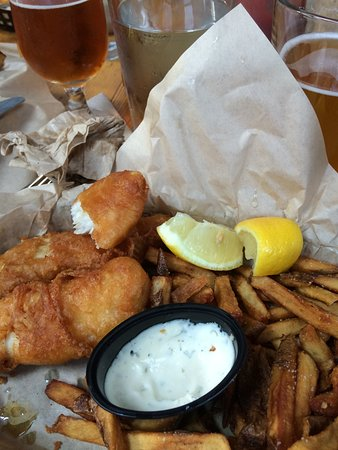 Southern Pacific Brewing: Fish & Chips