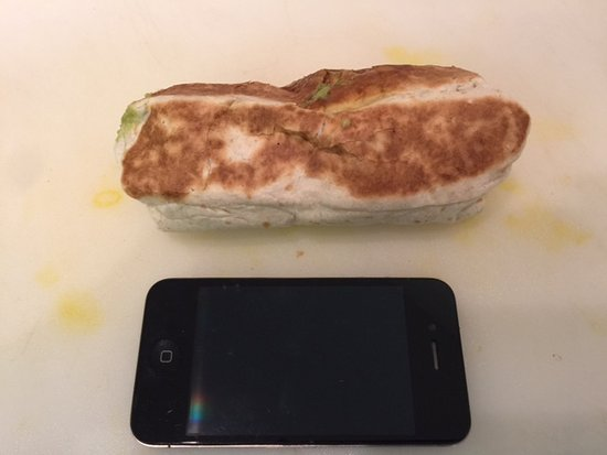 Santo : Small Fish Burrito