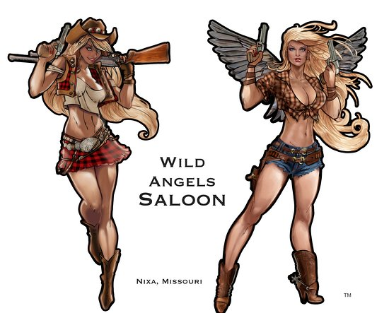 Nixa, Μιζούρι: Wild Angels Saloon