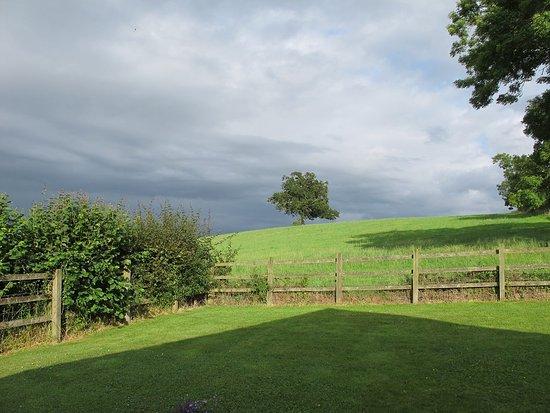 Castle Cary, UK: Blick aus dem Schlafzimmer