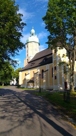 Horni Blatna, Tjeckien: Kostel v Horní Blatné