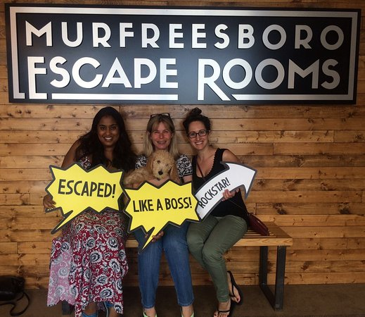 Murfreesboro Escape Rooms