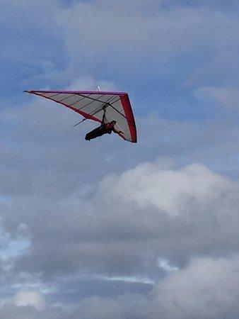 Stanwell Park, Australia: in flight
