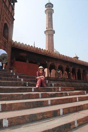 Freitagsmoschee (Jama Masjid): Jama Masjid - Friday Mosque New Delhi