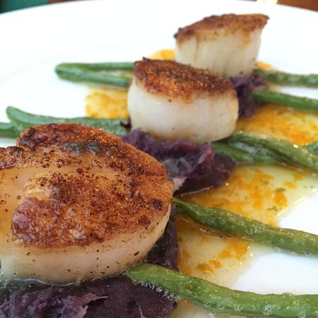 Ragged Point Inn and Resort: Diver scallops.
