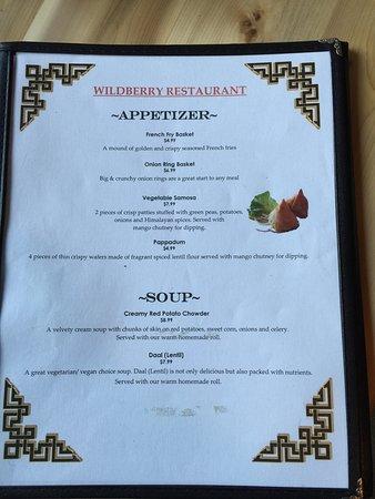 Ashford, WA: Wildberry Restaurant