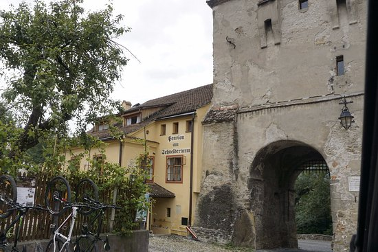 Pension am Schneiderturm: The hotel near the fortress gate