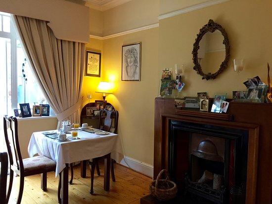 Tinode House: sala della colazione