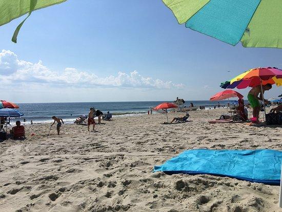 Summer fun at New Jersey's Seaside Park Beach!