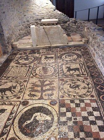 Lendorf, Austria: fragment mozaiki