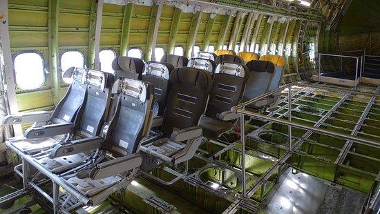 innenraum der boeing 747 picture of technik museum speyer speyer tripadvisor. Black Bedroom Furniture Sets. Home Design Ideas