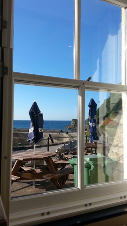 View from the table while having breakfast at the Pier House Hotel. 15th August 2016.