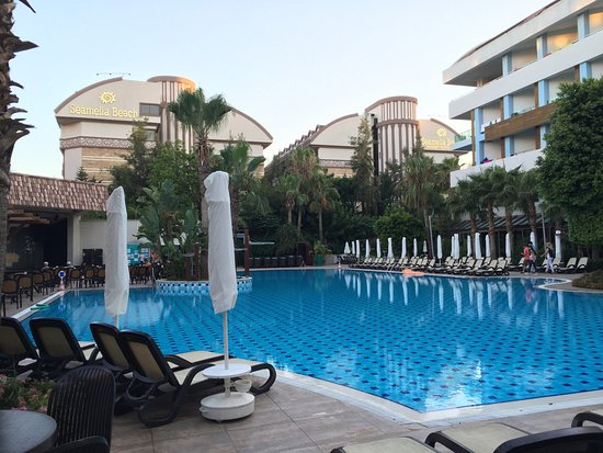 Port Side Resort Hotel: the hotel pool