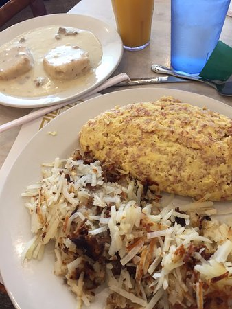 Portage, IN: 1/2 Order of B&G, Corned Beef Hash Omelette and Has Browns