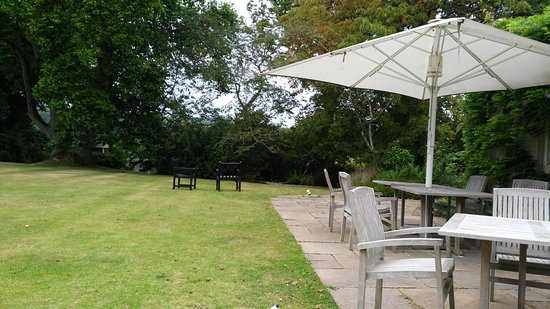 The Hartnoll Hotel: Some of the outdoor seating