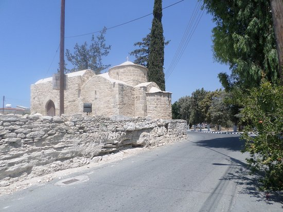 Anafotida, Cyprus: Church near Kolossi Castle