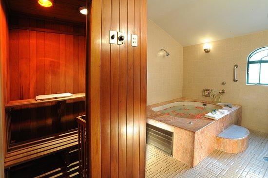 Hotel Park Villa: Baño Suite Puebla