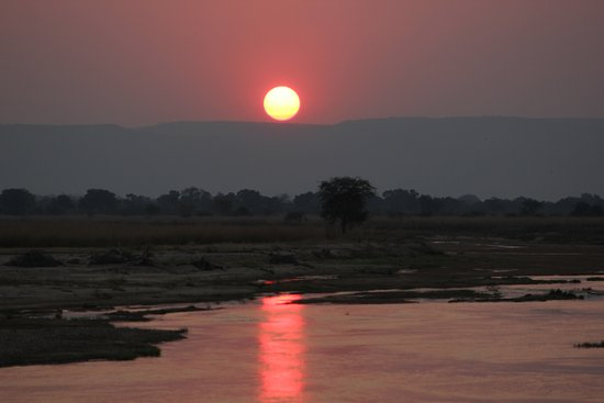 North Luangwa National Park, Zambia: sun set