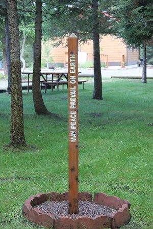 Hungry Horse, MT: Peace Pole