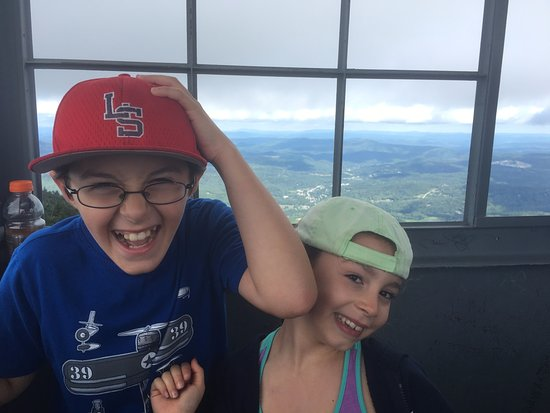 Healdville Trail: The little ones made it up. But it wasn't easy getting back down.