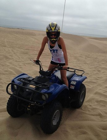 Oceano, Kalifornia: Me on my kids-sized bike