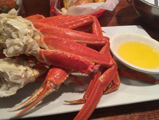 Bethpage, NY: crab legs!