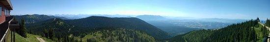 Whitefish Mountain Resort: Panorama view facing South