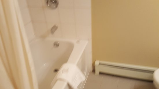 Robson Suites: shower/tub