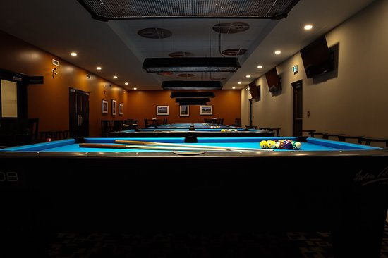 Walkerton, Canada: Billiards Room