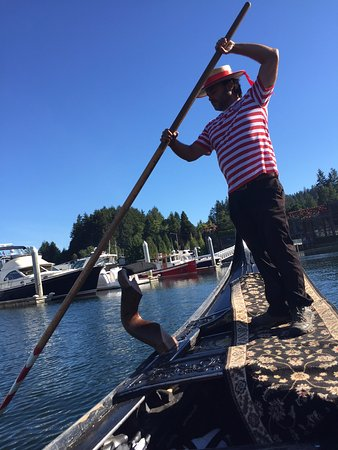 Gig Harbor, Waszyngton: John, our gondolier