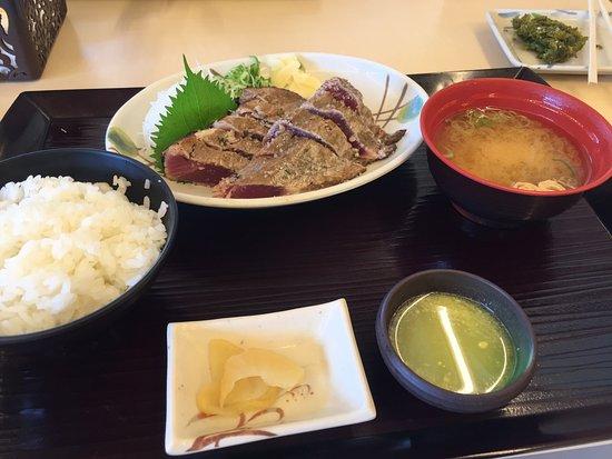 Kuroshio-cho, Japão: 塩タタキ定食