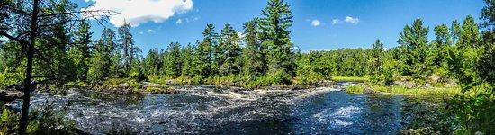 Orr, MN: Upstream Rapids before Vermilion Falls