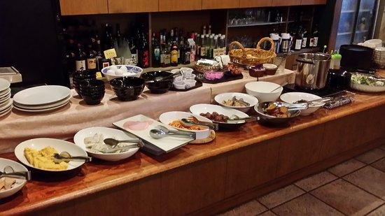 Pacific Hotel Shiroishi: 朝食バイキング