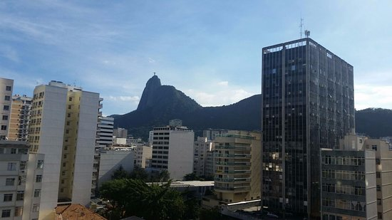 Mercure Botafogo Mourisco : View of Botafogo taken from the balcony of room