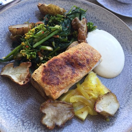 Penrith, Australia: Pork belly from the daily specials