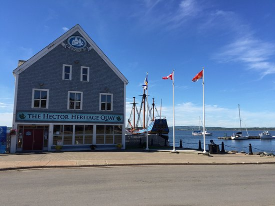 The Hector Heritage Quay, Pictou, NS 31 July 2016