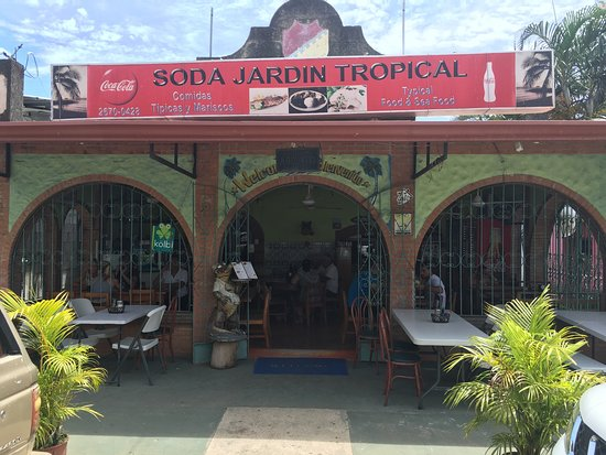 Jardin tropical playas del coco restaurant reviews for Restaurant jardin 92