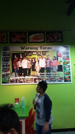 Tarakan, Indonesia: Mr. Jokowi was here too