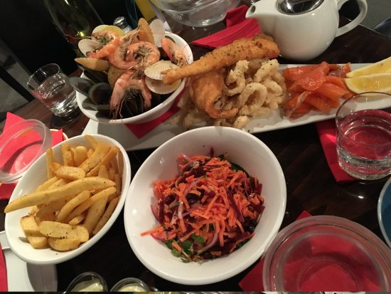 The Reef Steak And Seafood Restaurant Our Platter For 2