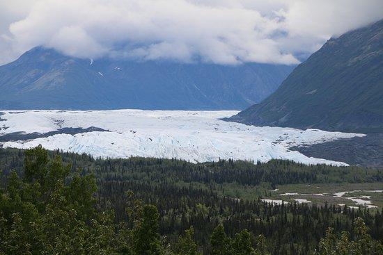 Glenn Highway: Matanuska Glacier