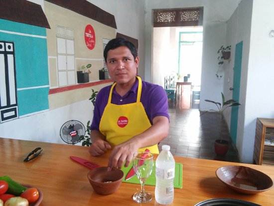 Granada, Nikaragua: La Tortilla Cooking School