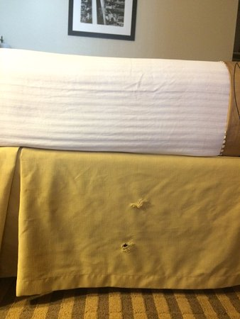 Emporia, KS: torn bedskirt
