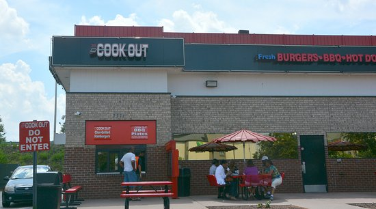 Excellent Burgers Picture Of Cook Out Concord TripAdvisor