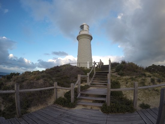 Rottnest Island, Australia: Looking up from the beach