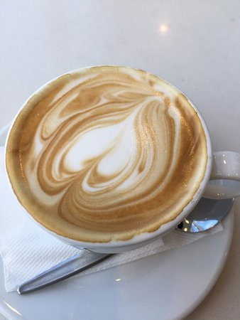 Indooroopilly, Australia: Soy flat white