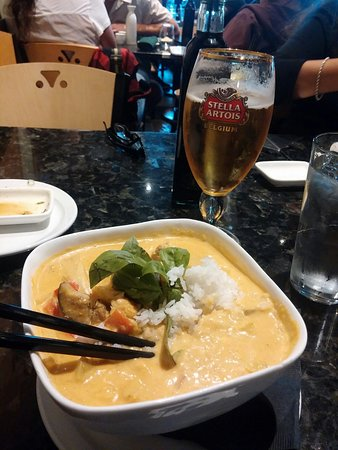 East by Southwest : Thai red curry chicken - yum!