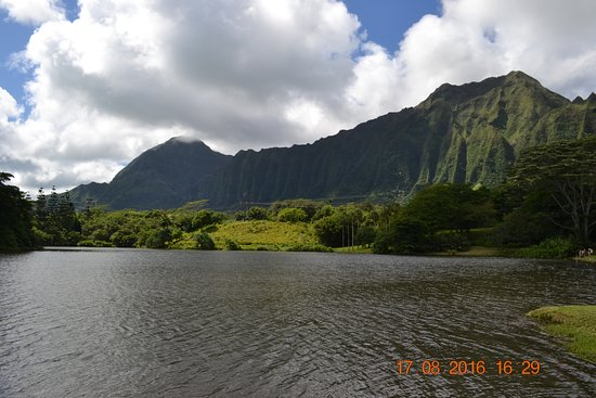 Kaneohe, Hawaje: lake to the mouton view