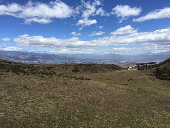 Pichincha Province, Ekwador: Parque Arqueologico Cochasqui